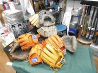 野球用品の点検・修理承ります!